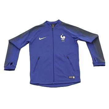 Nike Kinder Frankreich WM 2018 Anthem Jacke, deep royal Blue