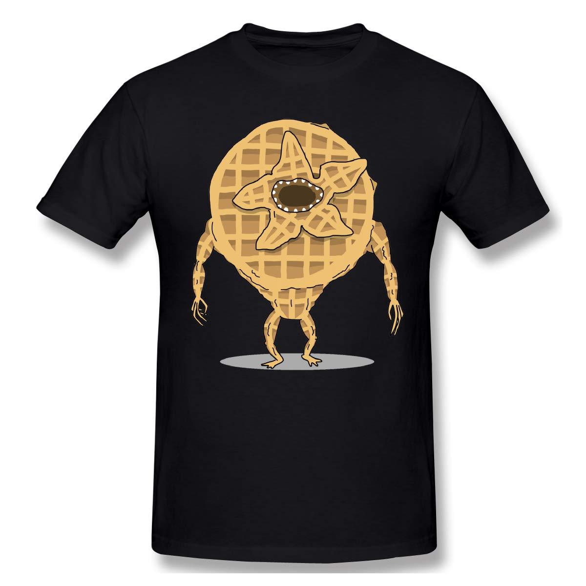 Gallagher Waffles Demogorgon Casual T Shirt Short Sleeve Tee For