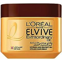 L'Oréal Paris Elvive Extraordinary Oil Styling Cream Jar, 200 ml