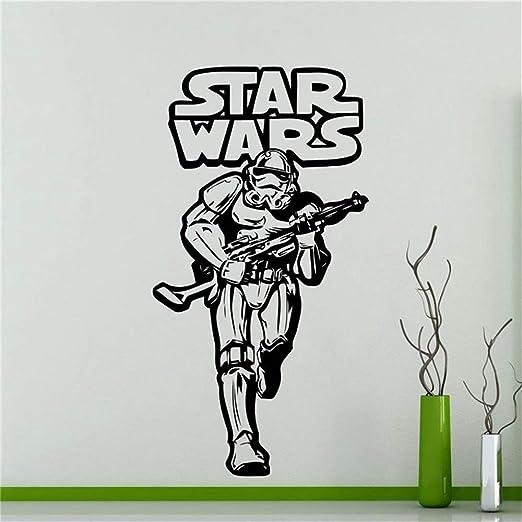 Stormtrooper Tatuajes de pared Star Wars Logo Home Decor Kids Boy ...