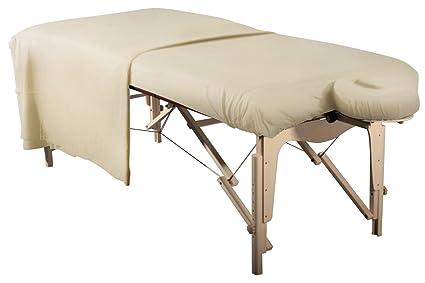 Camilla de masaje funda/Spann funda set 3 piezas sábana para camilla de masaje/