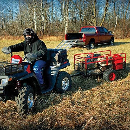 Yutrax Trail Warrior X2 Heavy Duty UTV/ATV Trailer - for Off-Road Use - 1,250 lb. Capacity