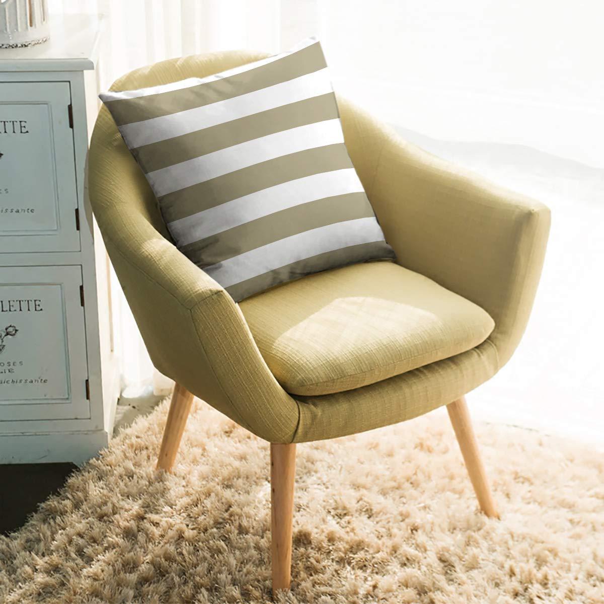 KAROLA - Funda de cojín Decorativa de Lino y algodón, diseño ...