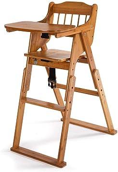 5 Colors Baby High Chair Wooden Stool Infant Feeding Children Toddler Restaurant