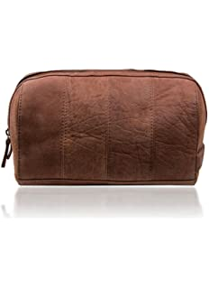 Lakeland Leather Hunter Leather Wash Bag in Chocolate Brown - Men s  Toiletry Bags. £29.99 · Men s Brown Leather Toiletry Bag with Waterproof  Lining 627ea3126f5d3