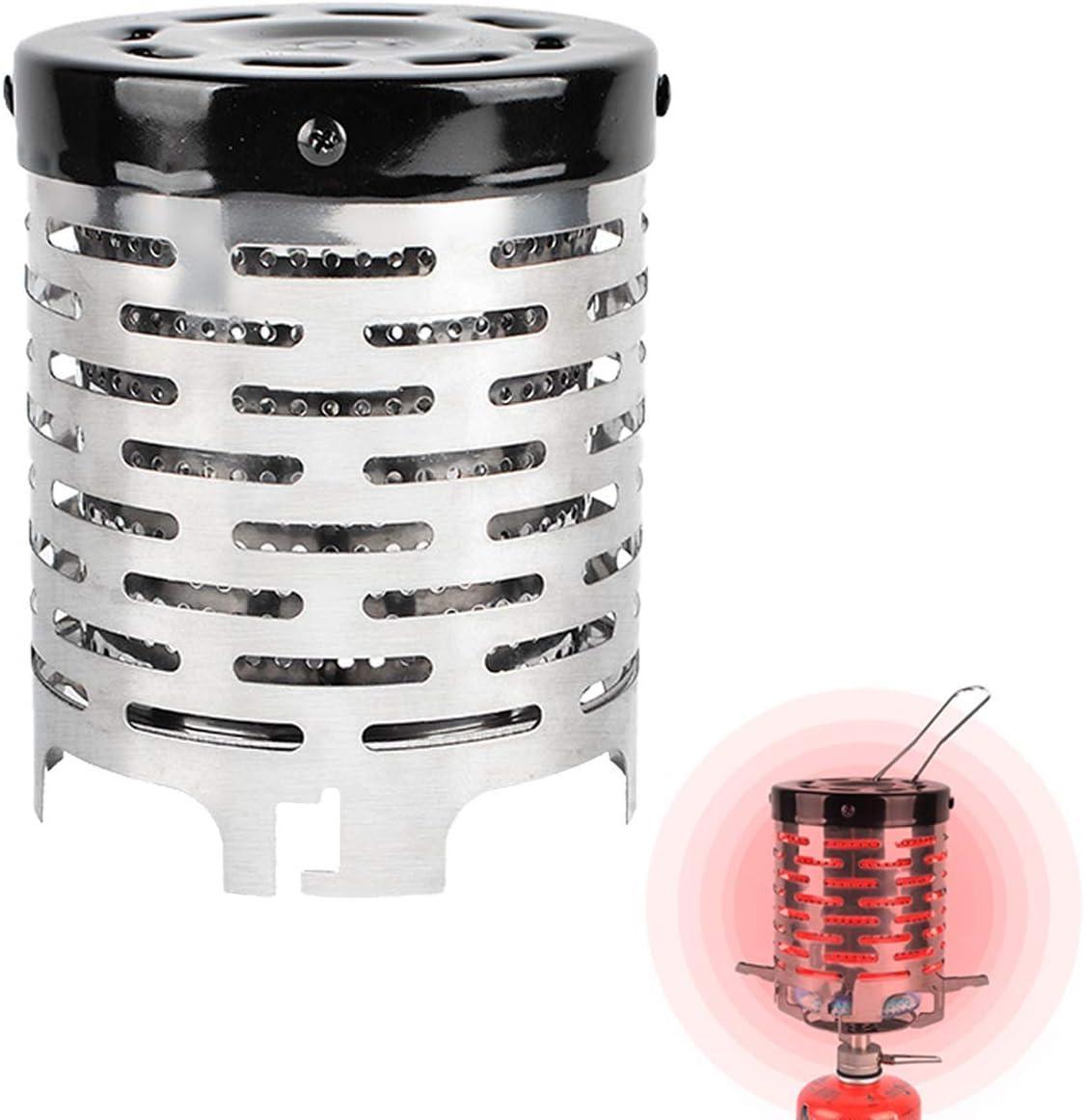 ASEOK Bright Spark - Adaptador Estufa para Usar al Aire Libre y Dar un Ambiente Acogedor,Mini Carpa calefactora para mochileros al Aire Libre Senderismo Travel BBQ y Pesca Carpa Exterior Calefactor