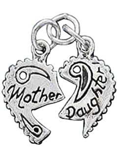 LavaFashion Sterling Silver Brocaded Initial W Charm Necklace 18