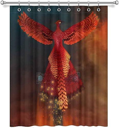 InterestPrint Cool Burning Phoenix Alive