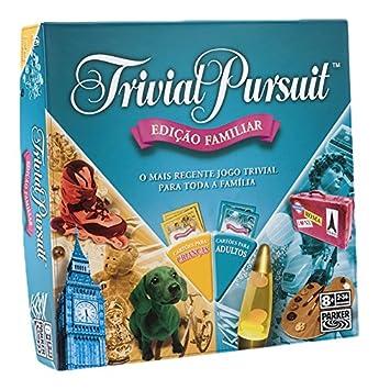 Trivial Pursuit Familia Hasbro Gaming versi/ón en portugu/és Hasbro E1921190