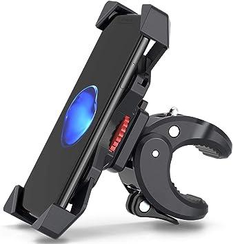 2021 Upgrade Fahrrad Handyhalterung Motorrad Handyhalter Fahrrad Universal Halterung Fahrrad Für 3 5 7 0 Zoll Smartphone Mit 360 Drehbare Outdoor Fahrrad Halter Von Fylina Phone Holder Bike Elektronik