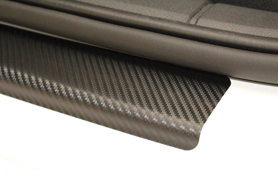 Scuff Plate Door Sill Paint Protection Film Protector 3D Carbon Foil Door Einstiege Einstiege 2194 stovad