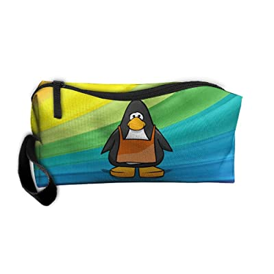 50%OFF Cool Penguin Portable Multi-function Handbag All-match Sewing Kit Cosmetic Bag