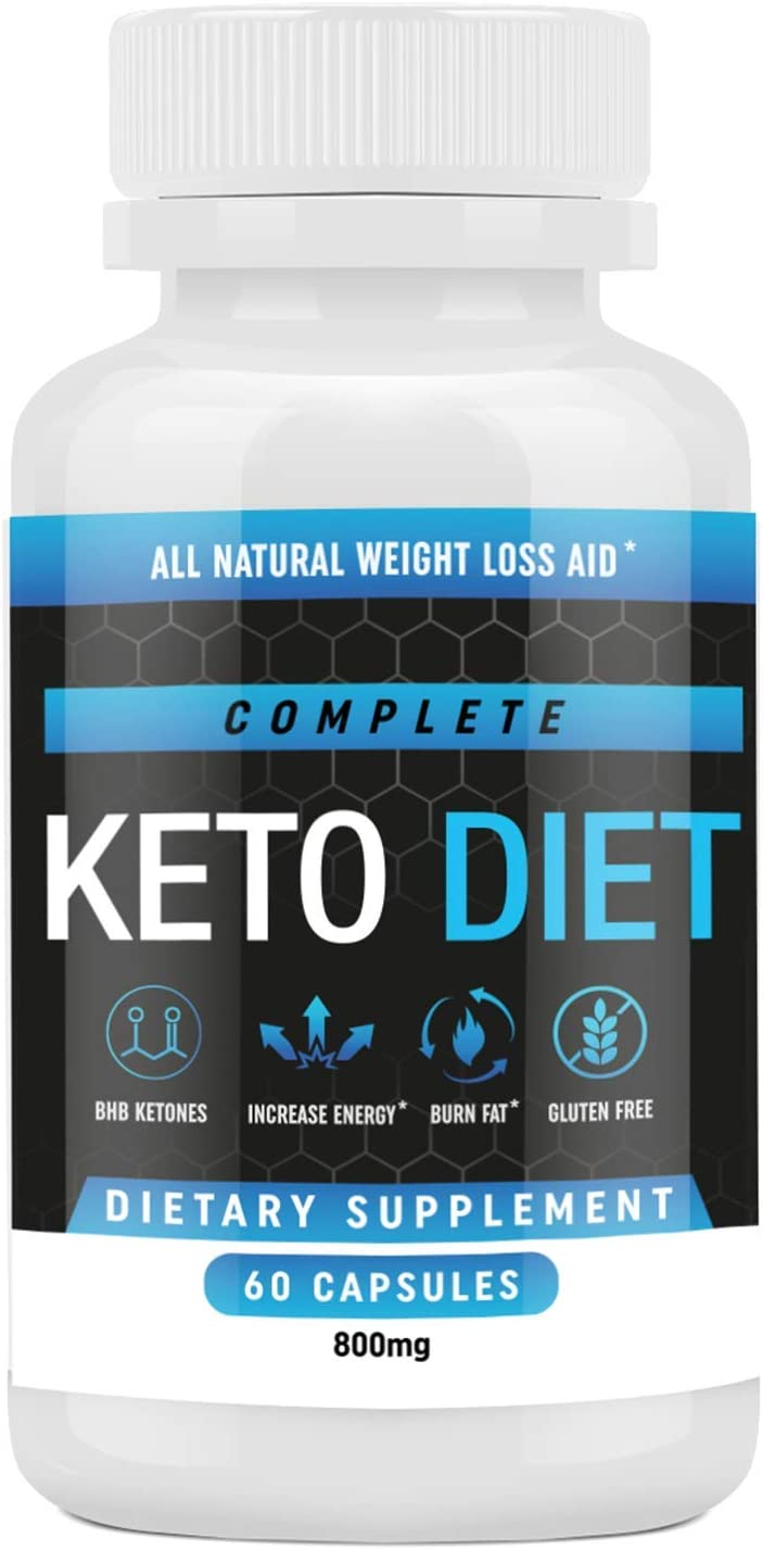 Amazon Com Keto Diet Pills Weight Loss Fat Burner Supplement For Men And Women Carb Blocker Appetite Suppressant Formulated To Compliment A Ketogenic Diet 60 Capsules Health Personal Care