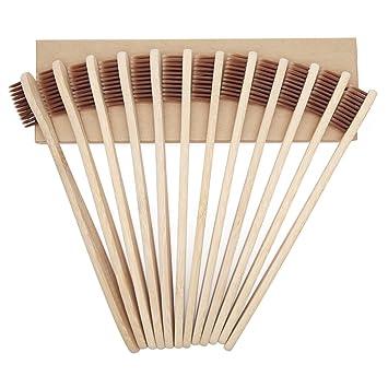 Cepillo de Dientes de Bambú Cepillo de Dientes De Madera de Bambú ...