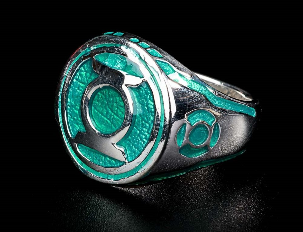 Violet Lantern Ring  Sinestro Corps Power Ring Violet Enamel 925 Sterling Silver