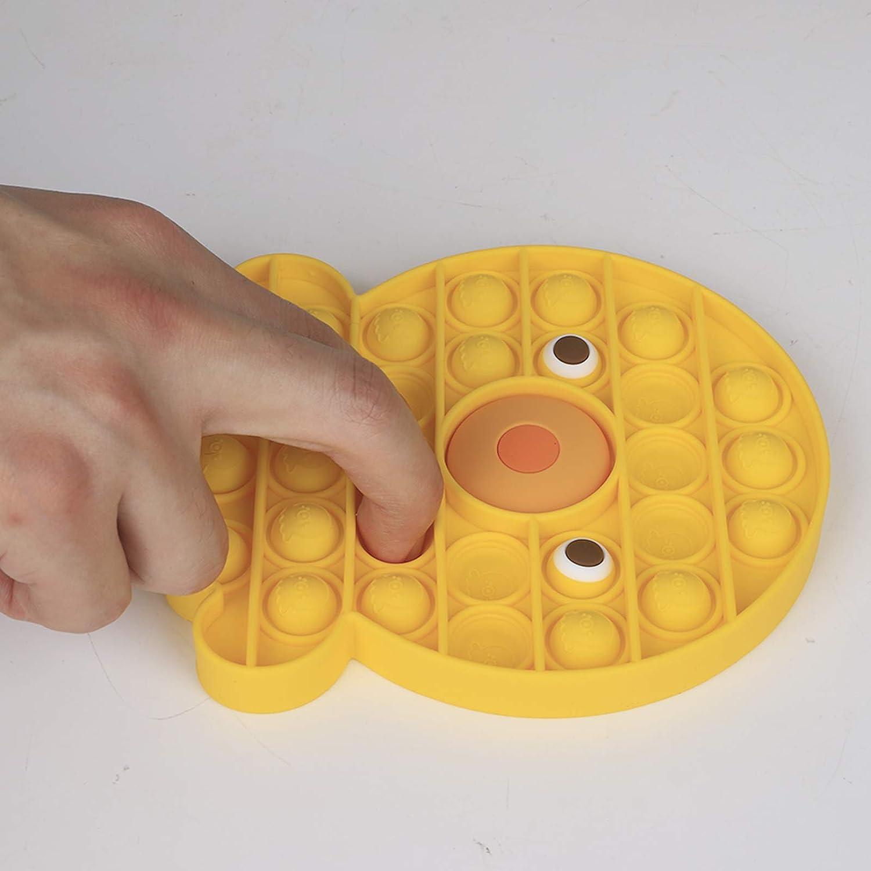Push Pop Bubble Fidget Sensory Toy Fidget Toy Stress Relief Besoins sp/éciaux Salle de Classe silencieuse pour Enfants Adultes LRIO Pop Fidget Toy