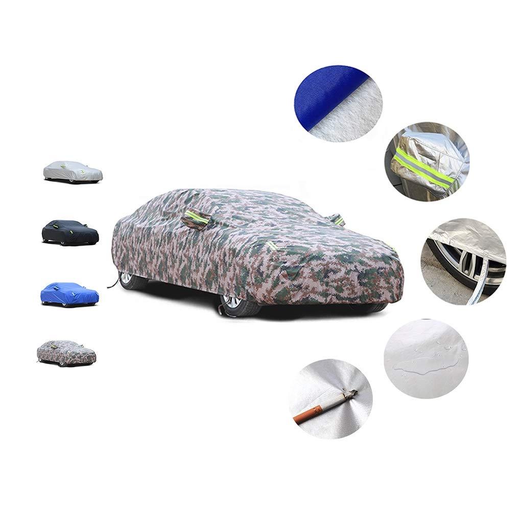 terciopelo de algod/ón cubierta del estilo del sed Cubierta del coche protector solar resistente al agua del encerado de coches HJPQCZ Compatible con la cubierta del coche de Mercedes-Benz Clase SLC