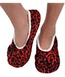 Womens Touch Me Snoozies Ballerina Slippers with Comfort Fit Split Sole