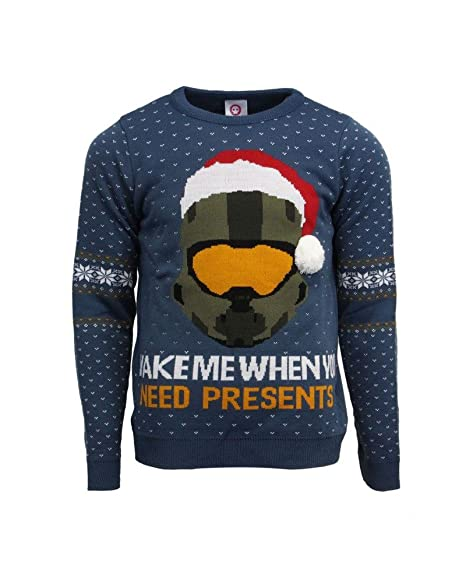 Halo Christmas Sweater.Official Halo Christmas Jumper Ugly Sweater