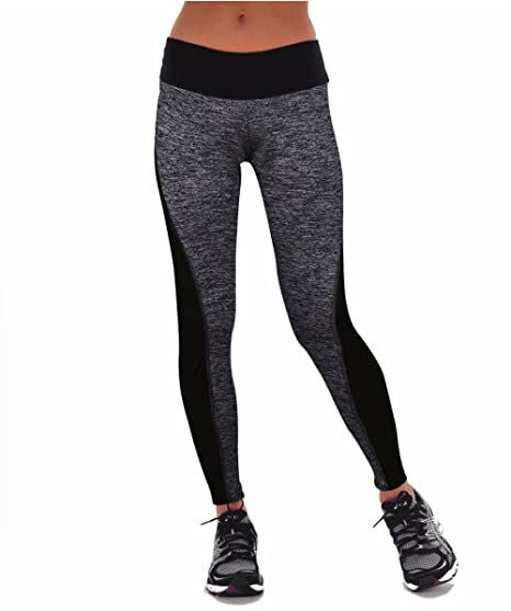 3963862c3 Buy Plus Size Black Gray Running Tights Pants
