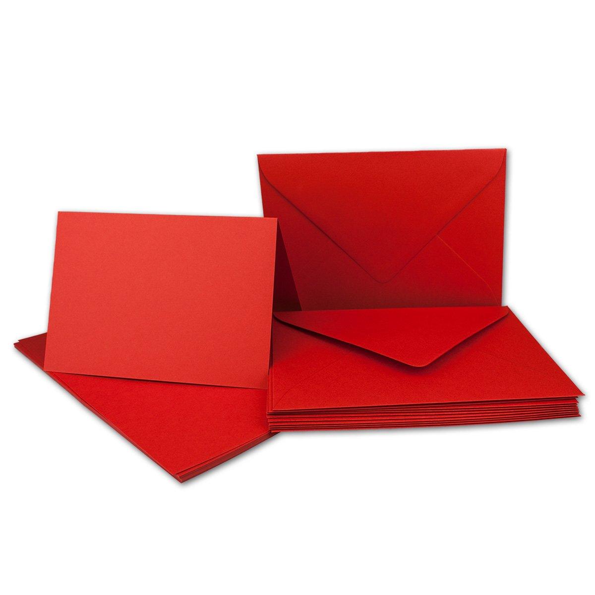 75 Sets - Faltkarten Hellgrau - Din A5  Umschläge Din C5 - Premium Qualität - Sehr formstabil - Qualitätsmarke  NEUSER FarbenFroh B07BSHRKZF | Ausgezeichnetes Preis