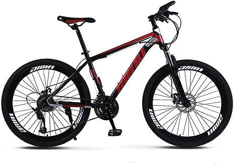 JFSKD Bicicleta de montaña Cuadro de Acero de 26