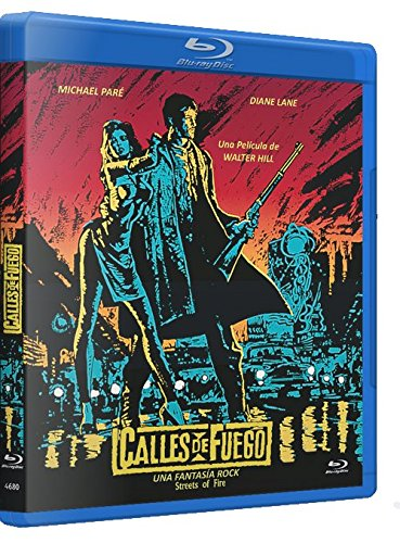 Calles de Fuego Blu Ray 1984 Streets of Fire