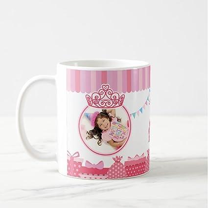 Dream Gifts 1st Birthday Personalized Photo Mug Gift Kids