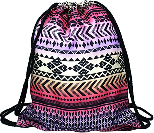 Pink Aztec Backpack