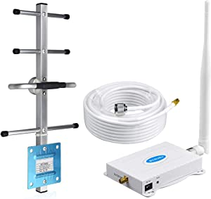 Cell Phone Signal Booster AT&T 4G LTE 5G T-Mobile Cricket US Cellular Band12/17 ATT Cell Phone Booster AT&T Signal Booster ATT Cell Signal Repeater Amplifier Extender Boost Voice+Data for Home