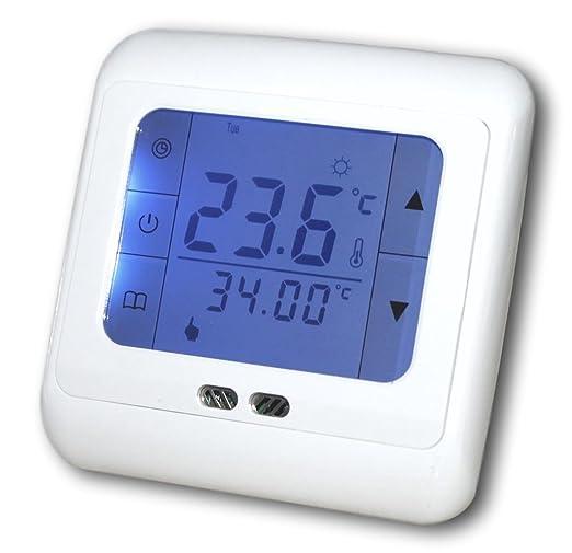 Außergewöhnliche SM-PC®, Raumthermostat Thermostat programmierbar mit Touchscreen CT35