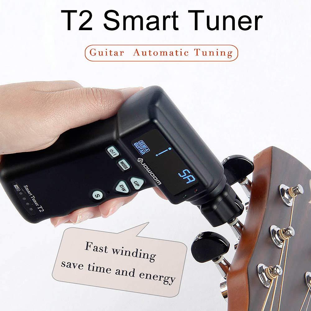 BATESMUSIC T2 smart Tuner Automatic Guitar tuning Strings Tuner Smart Peg String