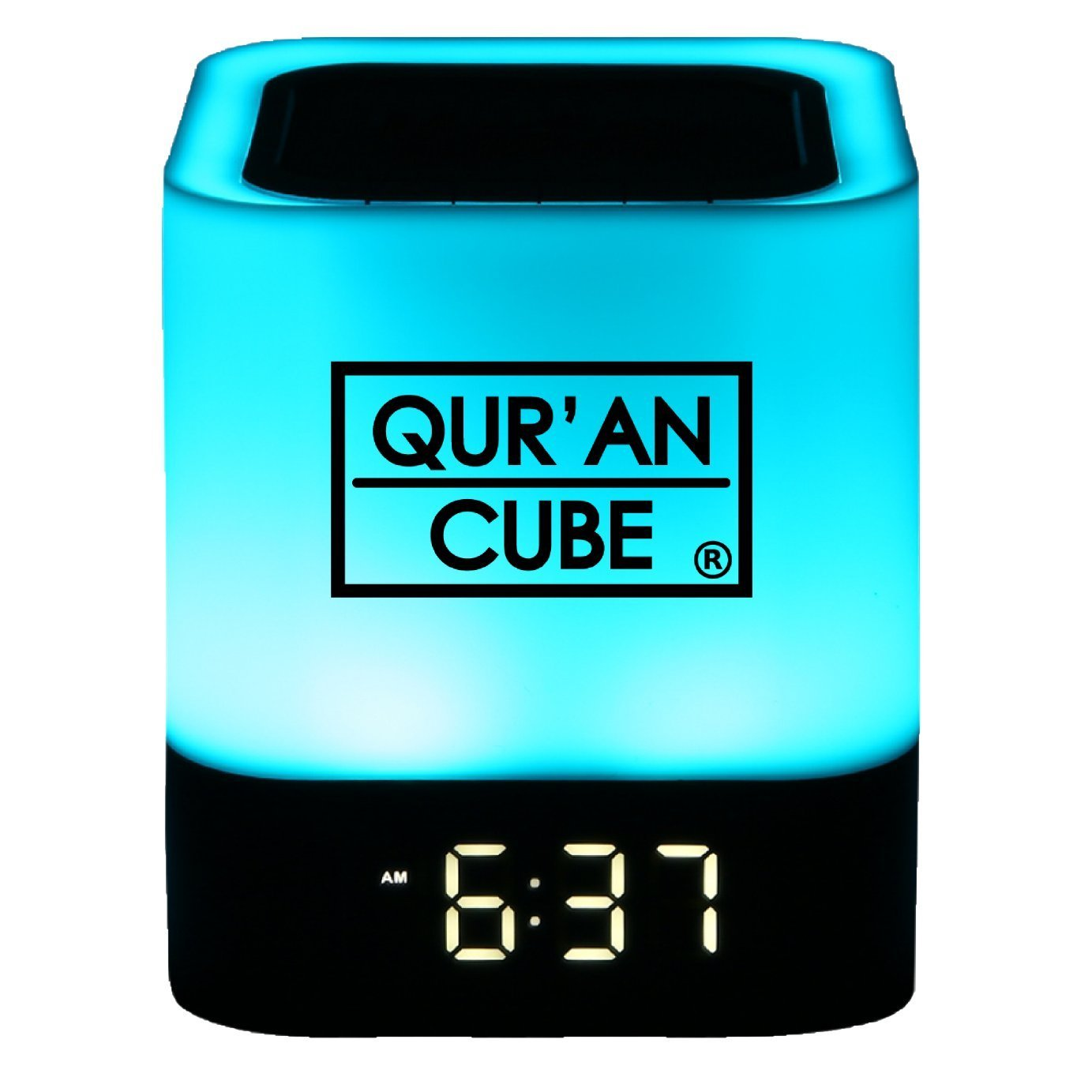 QuranCube SQ119 Full Quran Speaker and Nasheeds LED Multicolored Touch Lamp