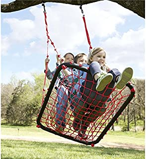 product image for Children's Red Giant Outdoor Platform Rope Tree Swing - Backyard or Playground - Multiple Children - 40 L x 30 W, 250 LB Max Capacity