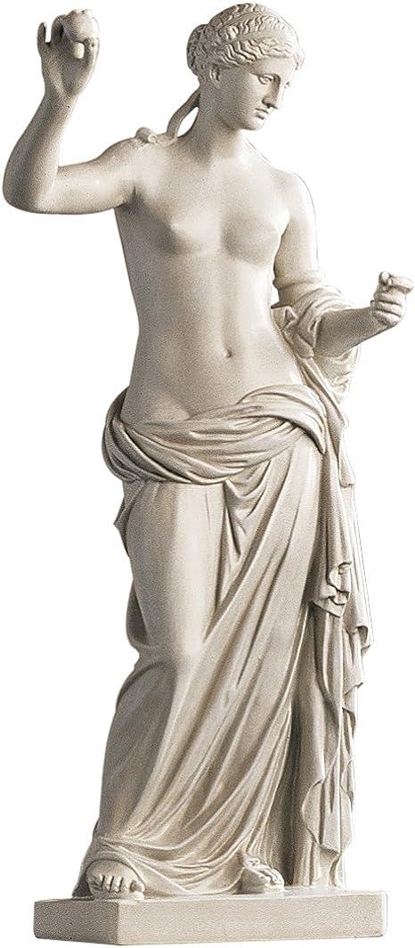Design Toscano Venus Of Arles Greek Goddess Statue Gallery 59 5 Cm Polyresin Antique Stone Amazon Ca Home Kitchen