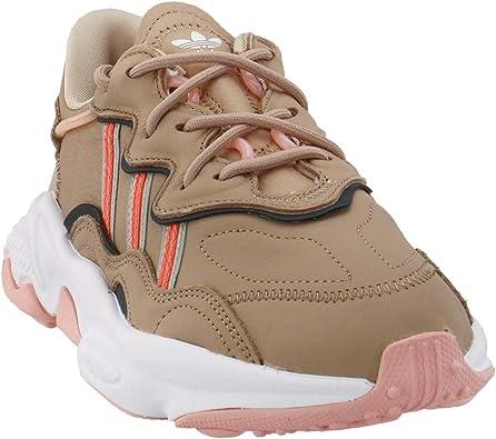 cortar carro voluntario  Amazon.com | adidas Womens Ozweego Casual Sneakers, Grey, 5 | Fashion  Sneakers