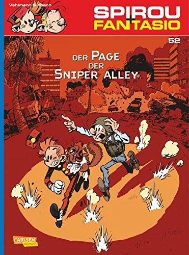 Spirou & Fantasio 52: Der Page der Sniper Alley Taschenbuch – 24. Februar 2015 Fabien Vehlmann Yoann Marcel Le Comte Carlsen