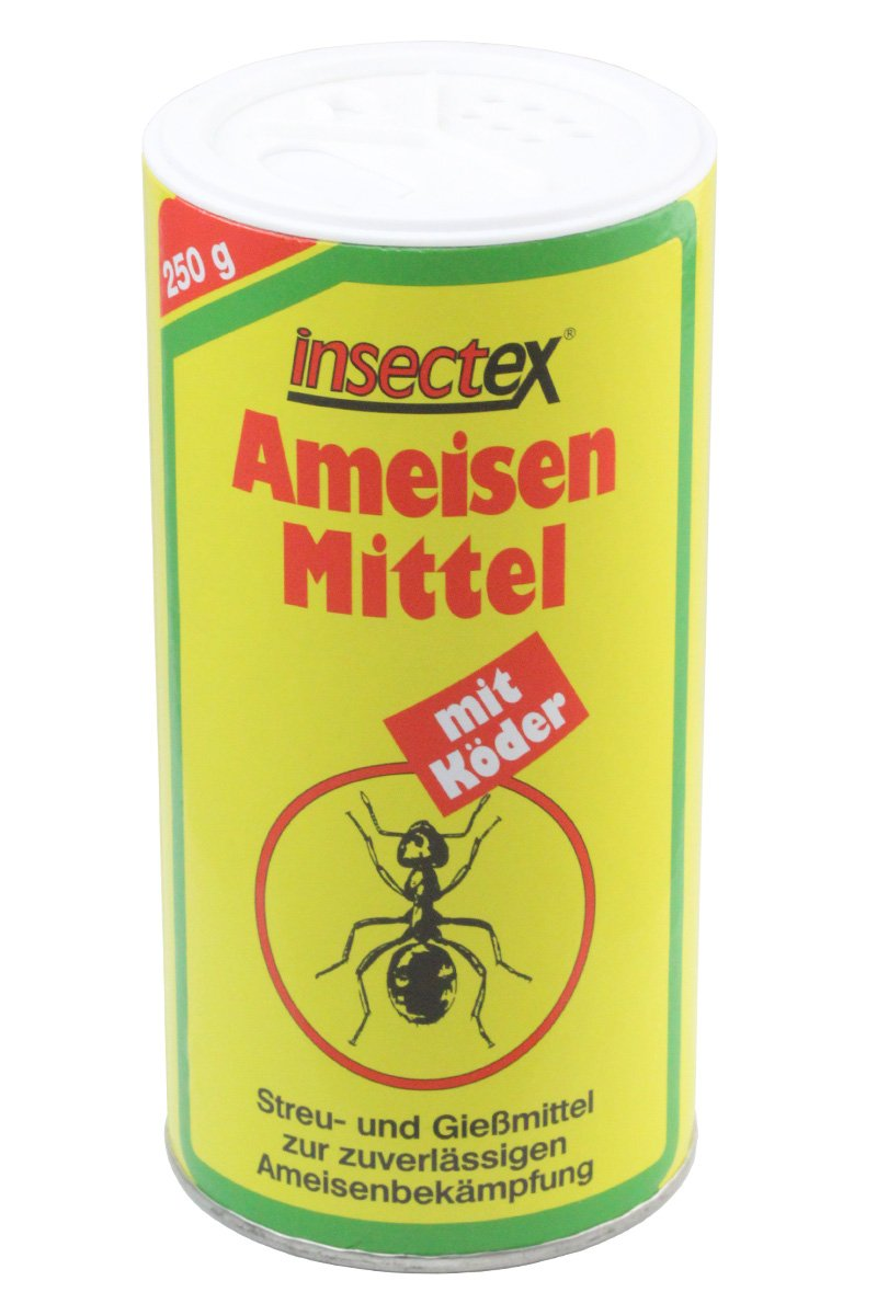 Insectex® Ameisen Mittel mit Köder 250g - Streu- und Gießmittel Ameisengift terra san®