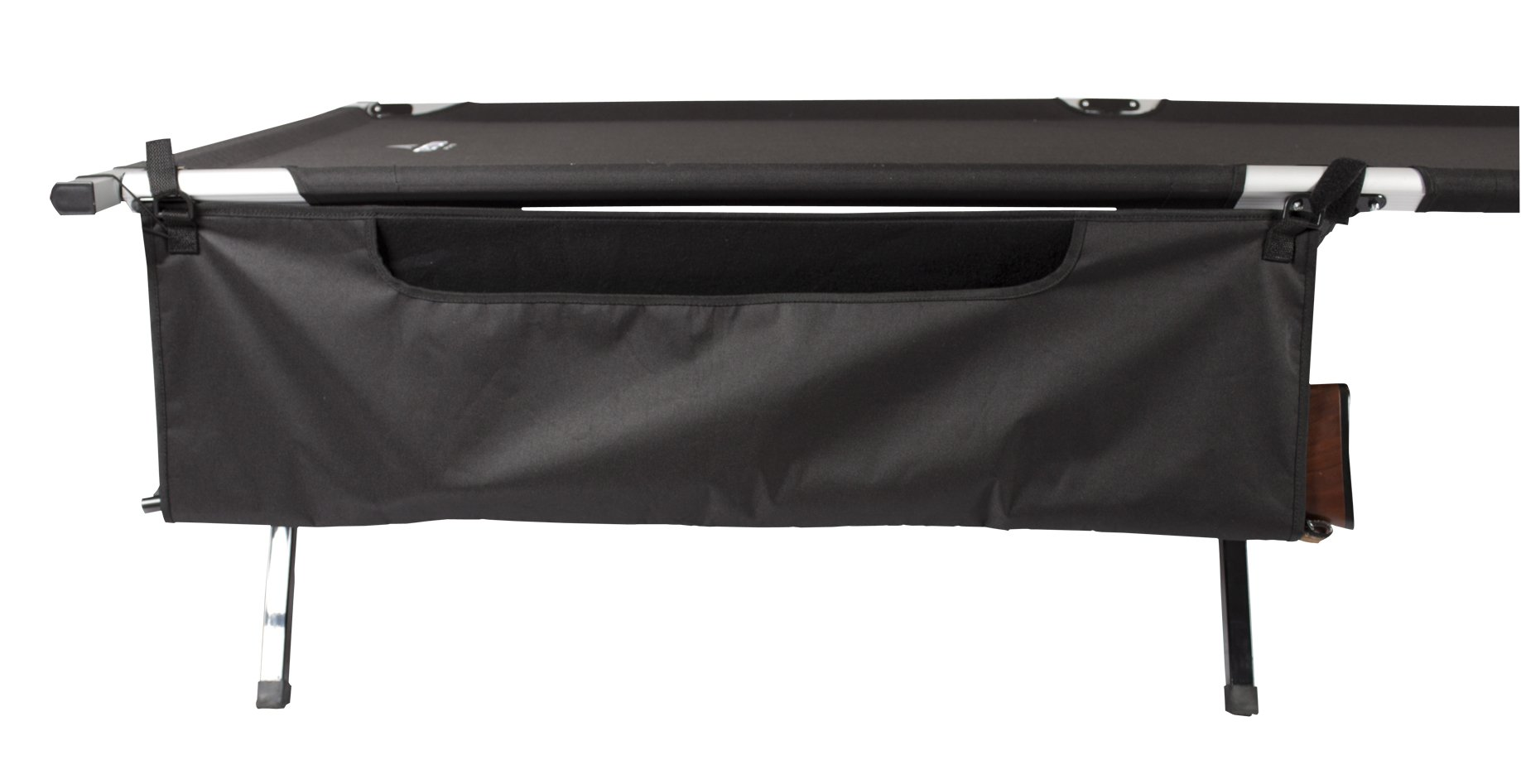 Teton Sports Cot Gun Sleeve; Secure Storage for your Rifle or Shotgun; Perfect Companion to the Camping Cots; Finally, a Cot Organizer for Your Gun; A Hunter's Must Have