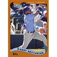 2020 Topps Archives #213 Randy Arozarena NM-MT RC Rookie Rays