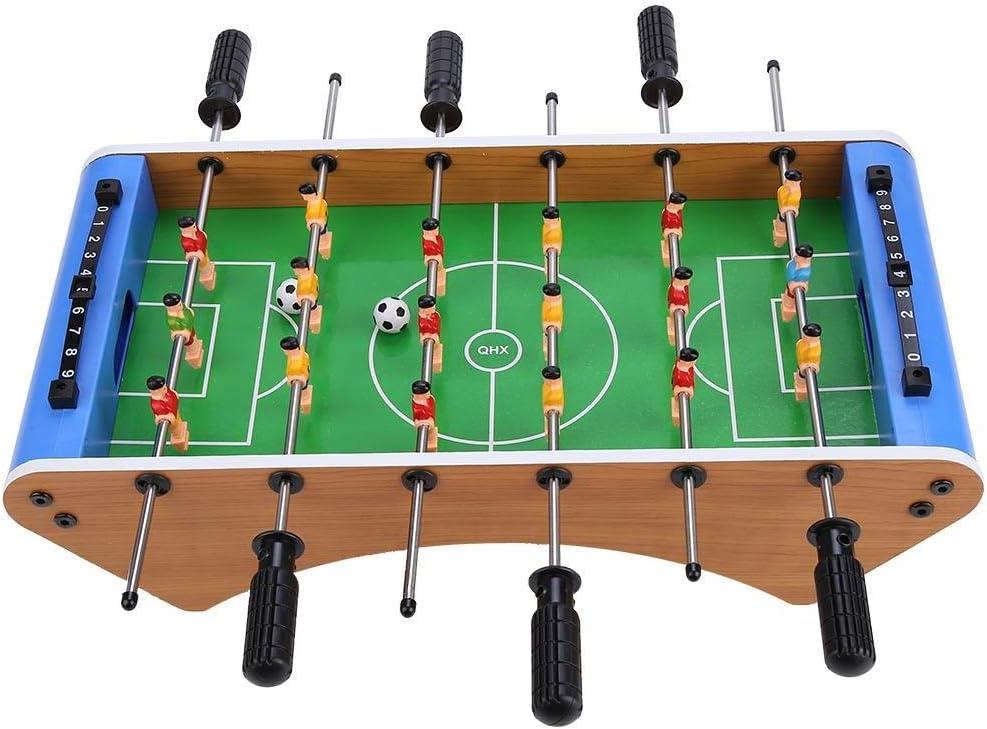 Riuty Juego de Mesa de fútbol, Juego de Tablero de Madera de Mini ...
