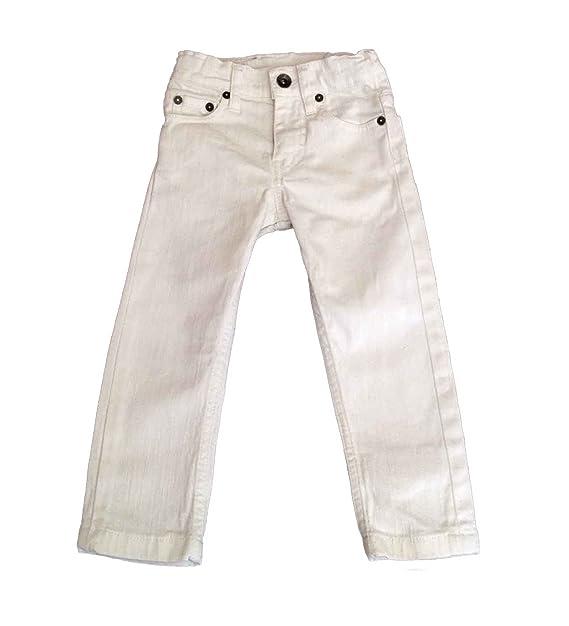 Pantalón vaquero blanco niño LeviŽs: Amazon.es: Ropa y ...
