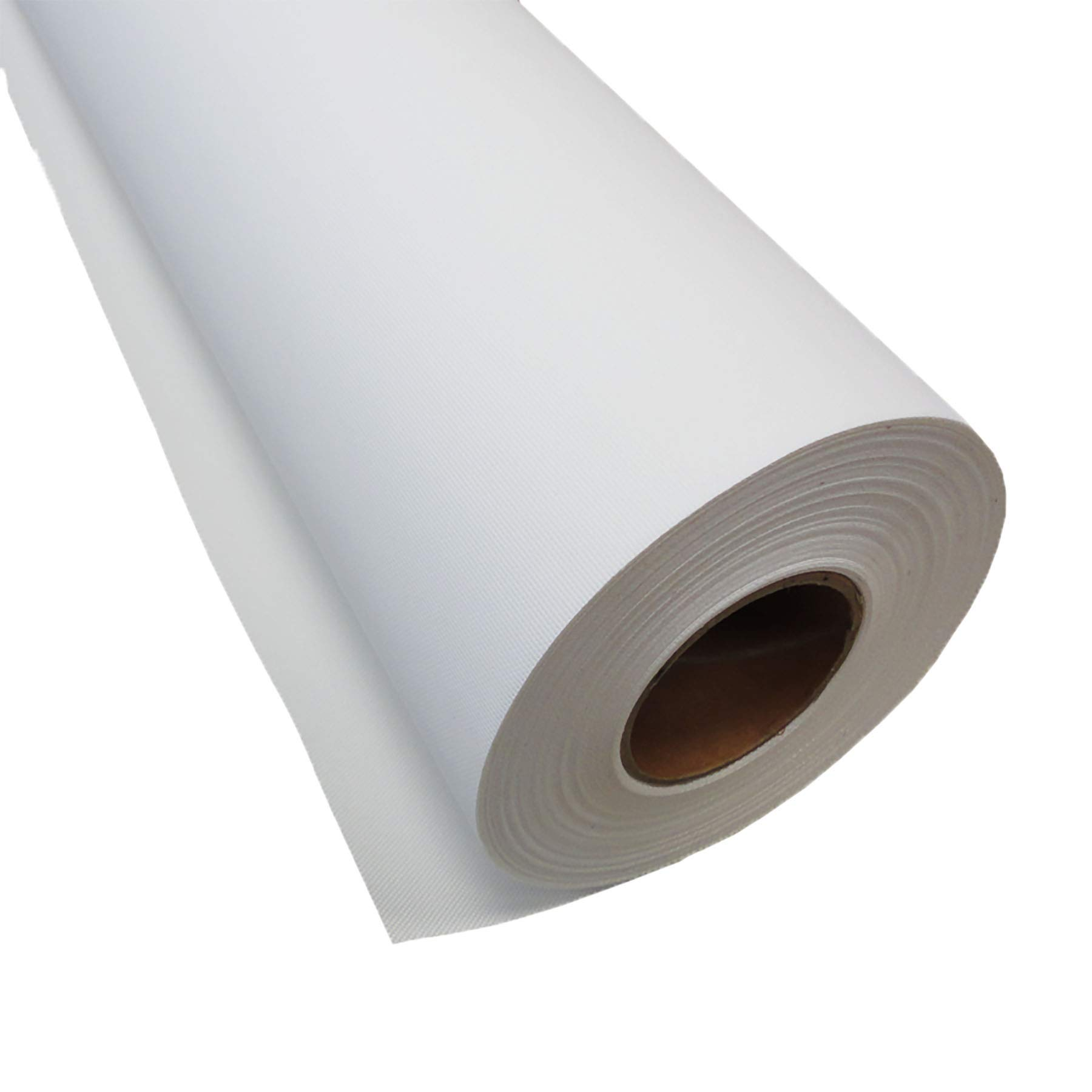 Inkjet Canvas Roll for Wide Format Inkjet Printing, 36'' x 75' roll, 100% Matte Polyester Canvas by Plotter Paper Direct by Plotter Paper Direct