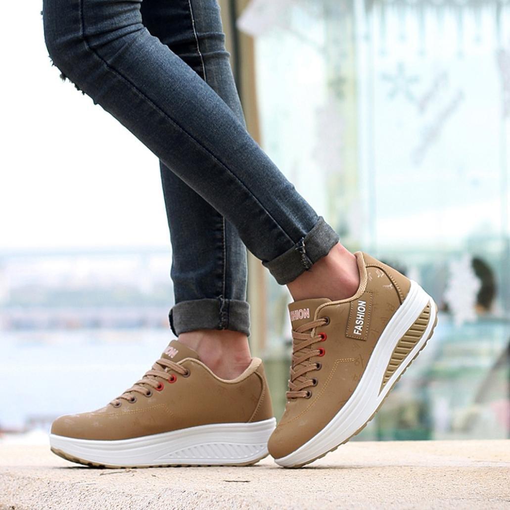 1997069a2d Elecenty scarpa sneakers estive eleganti donna scarpe Scarpa a zeppa ...