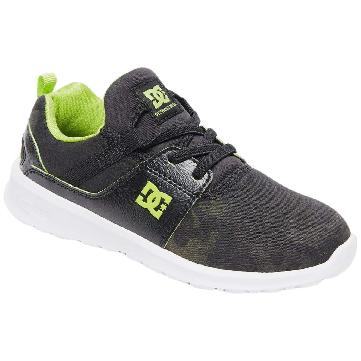 DC Shoes Youth Heathrow Tx Se Textile CAMO Trainers 4.5 US