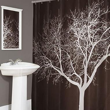 Tree Shower Curtain - Chocolate (70x72 )