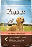 Prairie Comida para Perro Salmón y Arroz Integral, 27 lb