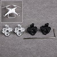Drone Fans 4pcs Phantom 4 Metal Propeller Mounting Base Bracket Holder Propeller Prop Mounts for DJI Phantom 4 9450S Propellers