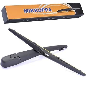 mikkuppa Kit de brazo y escobilla para limpiaparabrisas trasero para ...