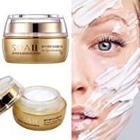 Anti-Aging Face Moisturizer Hydrating Cream,Day and Night Cream for All Skin,Snail and Shea Butter Facial Cream